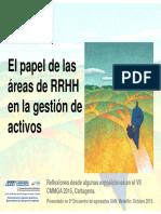 El Papel de las áreas de rrhh en la gestión de activos