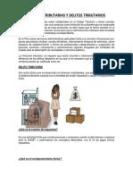 Informe de Infracciones Tributarias y Delitos Tributarios