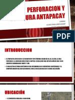 Perforacion y Voladura Antapacay