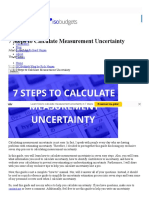 7 Steps to Calculate Measurement Uncertainty _ Isobudgets