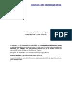 Bases Concurso Casos Clinicos XVII Jornada de Medicina Del Viajero