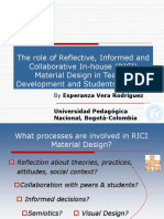 The Role of in-house Materials Design in Teacher Development