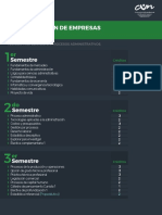 Plan Estudios Administracion Empresas Bogota