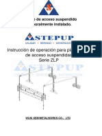 Manual Andamio Colgante Eléctrico - StepUp Andamios