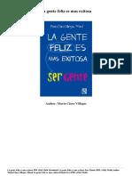 Maria Clara Villegas La Gente Feliz Es Mas Exitosa PDF Mobi Epub 3