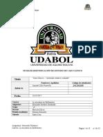 Ficha de Identificación de Estudio de Caso Clínico