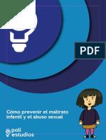 Cómo Prevenir El Maltrato Infantil y El Abuso Sexual