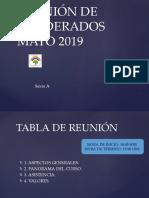 Reunión de Apoderados Sexto Mayo 2019