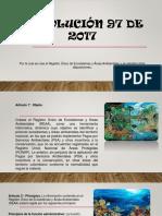 Resolucion 97 de 2017