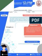 Silabo Excel Intermedio2016 Online