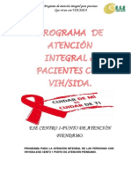 Programa de Atencíon Integral a Las Personas Que Viven Con Vih.