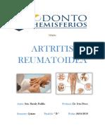 monografia artritis reumatoidea