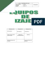 ITM-SIG-205 Equipos de Izaje