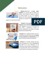 Medicinas químicas