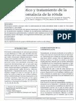 Diagnostico y Tratamiento de La Condromalasia