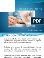 Redaccion de Documentos