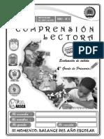 COMPRENSIÓN DE LECTURA 4° GRADO