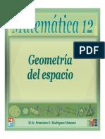 14 - Geometría Del Espacio
