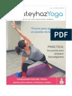 Revista Yoga Marzo 2018