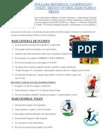 Invitación Pollada Deportiva