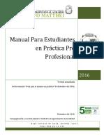 Manual Para Estudiantes en Practicas Laborales
