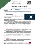 Espec Tecnicas Especificas JR. ARUBAx