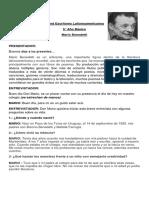 Stand Mario Benedetti