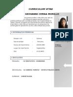 Curriculum Ecerna Morillo