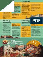 Programa Feria Internacional Del Libro de Azcapotzalco