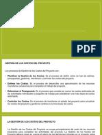 Presentación de Gestión de Los Costos Del Proyecto