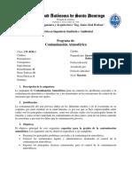 Programa Contaminacion Atmosferica