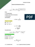 Formulario de Perforacion II