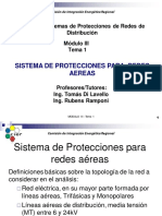 Sistemas de Protecciones Para Redes Aereas