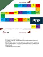 Apunte 1 Tablero Tarjetas e Instrucciones Del Juego Bertein 2019