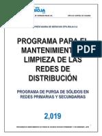 Mantenimiento de Redes de Distribucion - 2019