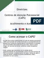 Diretrizes CAPS Acolhimento e Acesso (2)