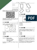1ª P.D - 2013  (Mat. - 8° Ano - BPW)