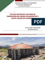 Polideportivo Coliseo Cajamarca Final