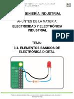 3.3. Elementos Basicos de Electronica Digital