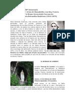 Santa Bernardita Soubirous El Mensaje de Lourdes