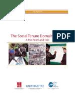 FIG_The Social Tenure Domain Model