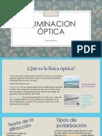 Presentación física Óptica