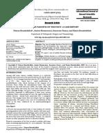 Nodular Fasciitis of the Foot :A case report.