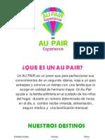 Brochure Au Pair Experience 2019