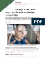 Autismo: ABA