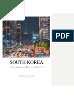 South Korea International Relations