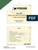 Analisis Multivariable y Aplicaciones