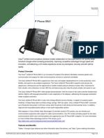 Datasheet IP Phone 6941