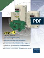 WEG Cfw 09 Inversor de Frequencia 0899.5216 3.1x Manual Portugues Br[1]