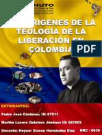 Infografía Teología de La Liberación en Colombia